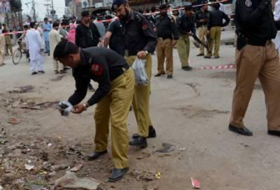 Two policemen injured in IED blast