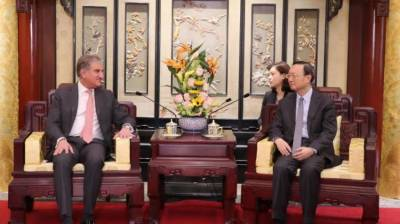 Pakistan FM Shah Mehmood Qureshi holds important meeting with top Chinese leadership