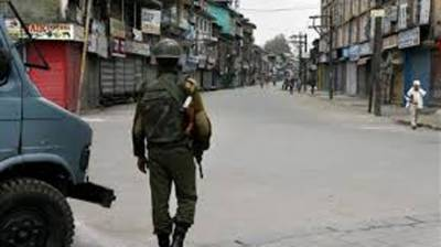Complete shutdown being observed in occupied Kashmir