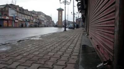Complete shutdown in occupied Kashmir on Sunday