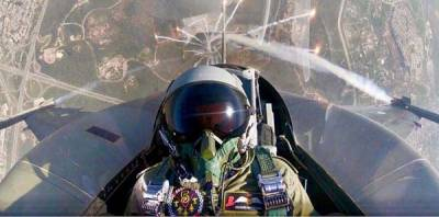 PAF Chief gives a stern message to enemy from the roaring skies of Islamabad