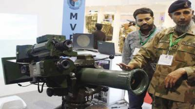 Pakistan Army organizes weapons' exhibition in Skardu