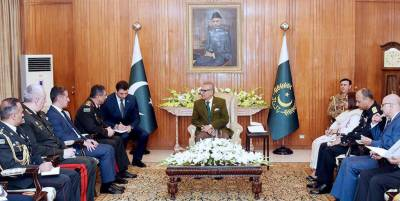 Pakistan desires good relations with all its neighbors: President