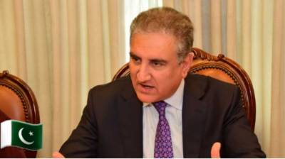 Pakistan FM Qureshi gives an olive branch to India yet again