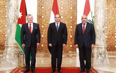 Egypt, Jordan and Iraq call for restoring stability in region