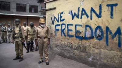 Indian police arrest over dozen youth in occupied Kashmir
