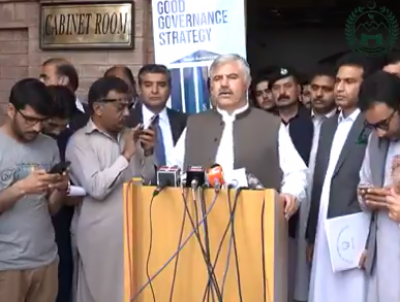 CM launches good governance policy in Khyber Pakhtunkhwa