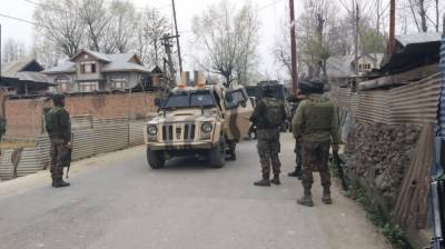 Four Indian soldiers hit in an encounter in Occupied Kashmir