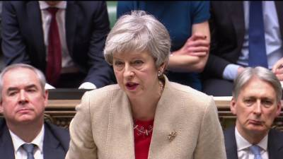 Brexit: MPs reject PM May's EU withdrawal agreement