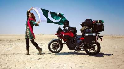Canadian Solo traveler Rosie Gabrielle shares her amazing experience of traveling from Lahore to Gwadar on motorbike