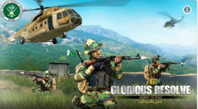 Glorious Resolve: Pakistan Army ISPR launched smartphone game to show how Pakistani soldiers fight in battlefield (VIDEO)
