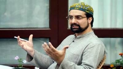 Mirwaiz urges India not to criminalize Kashmiris' political aspirations