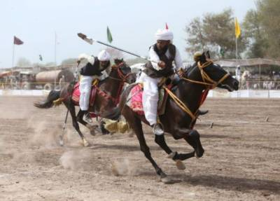 Pakistan seeks World Record in ancient games of tent pegging