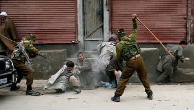 Indian troops launches cordon and search operation in Qazigund, occupied Kashmir