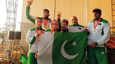 Pakistani Rowers displayed superb performance by clinching gold medal at 16th Indoor Rowing Championship