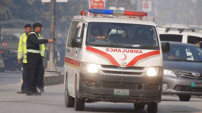 Two killed in Bannu road accident