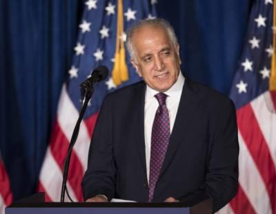 US special envoy holds important meetings in Kabul, Afghanistan