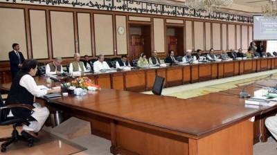 Federal cabinet meeting held with PM Khan in chair