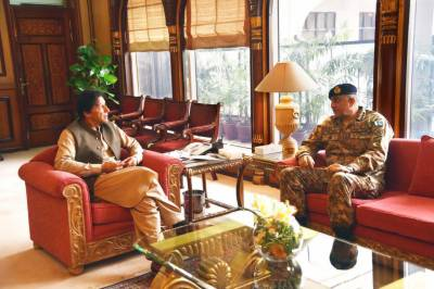 COAS General Qamar Bajwa holds important meeting with PM Khan