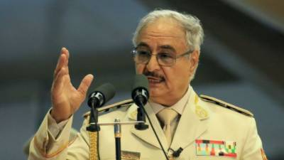 Khalifa Haftar ordered Libyan National Army to march on capital Tripoli