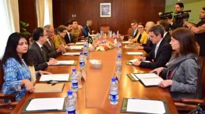 Talks b/w Pakistan, US begin to discuss Afghan peace process