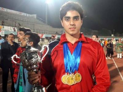 Lahore's Azlan Khan makes history at Punjab Games with 6 Gold Medals