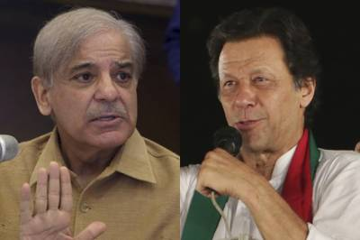 Shahbaz Sharif hits back at PM Khan over his tweet of two laws in Pakistan