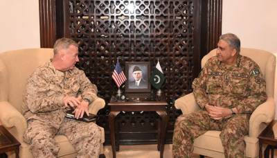 US CENTCOM Commander held important meeting with Pakistan Army Chief at GHQ