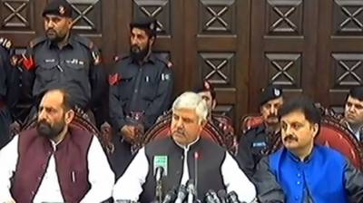 CM announces merger of Levies, Khasadar Force into KP Police
