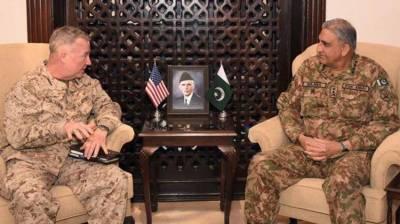 COAS, incoming US CENTCOM Commander discuss regional security situation