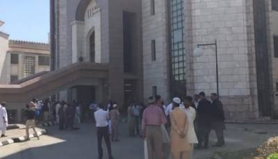 Fire erupts at PM Office, PM Khan refused to leave building until all staff evacuated safely