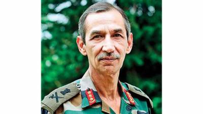 Indian Military General feel threatened by China