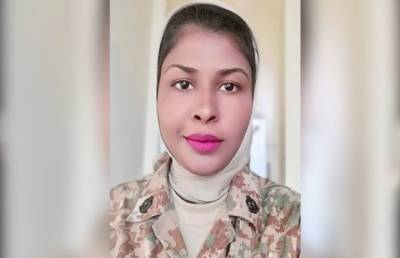 Pakistan Army Major Saiqa wins gold medal in USA