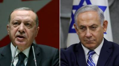 Turkish President Tayyip Erdogan lashes out at Israel
