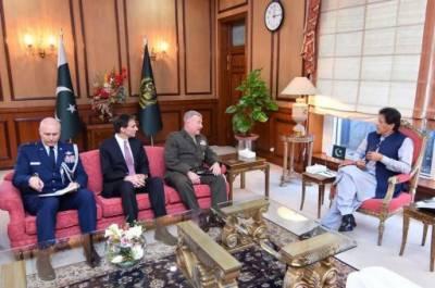 What did US CENTCOM Commander tell PM Khan?