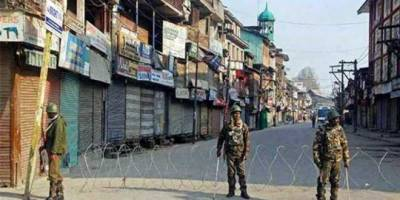 Complete shutdown cripples life in occupied Kashmir