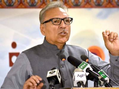 New Pakistan's credible, honest: says President Alvi