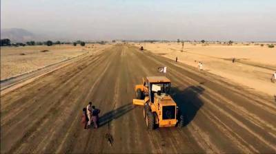 60% work on construction of DI Khan-Hakla Motorway completed