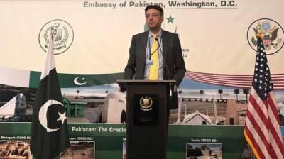 Asad urges Pakistan-America diaspora to invest in Pakistan