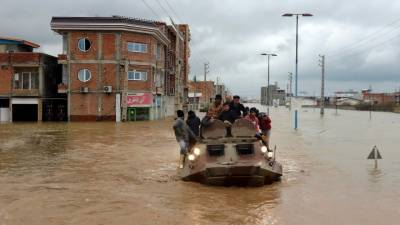 Saudi Arabia, UAE launch drive to support flood-hit Iranians