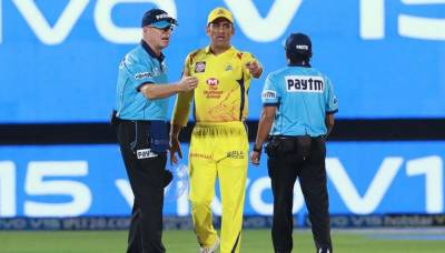Indian former skipper MS Dhoni gets punished for IPL misbehaviour