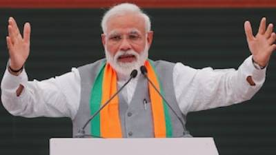 Indian PM Modi's Pakistan hysteria, starts and ends speech with Pakistan