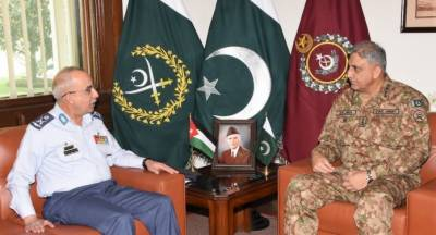 Pakistan and Jordan decide to enhance military to military and defence ties