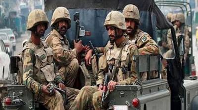 Four terrorists killed in a deadly encounter with security forces