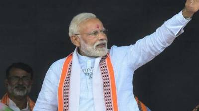 'Modi's re-election bid through financial backing from corporate sector raises fears about democratic process integrity'