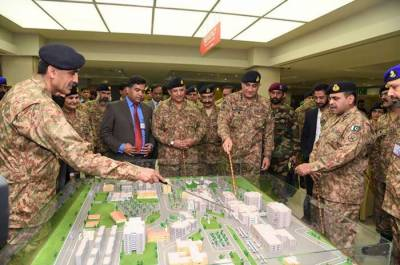 Pakistan Army Chief inaugurates new blocks at CMH Rawalpindi