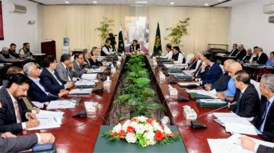 ECC meeting held in Islamabad with Finance Minister Asad Umar in chair