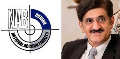 Fake fank accounts case : CM Sindh appears before Accountability Bureau