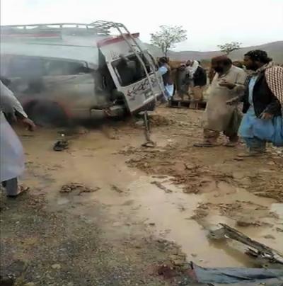 Mastung accident : 11 killed in trailer-van collision
