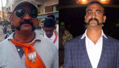 Is IAF Pilot Abhinandan campaigning for Modi's BJP?